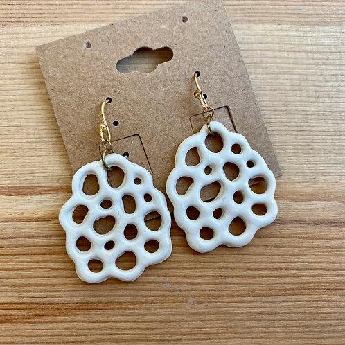 Earrings by Emily Hobart