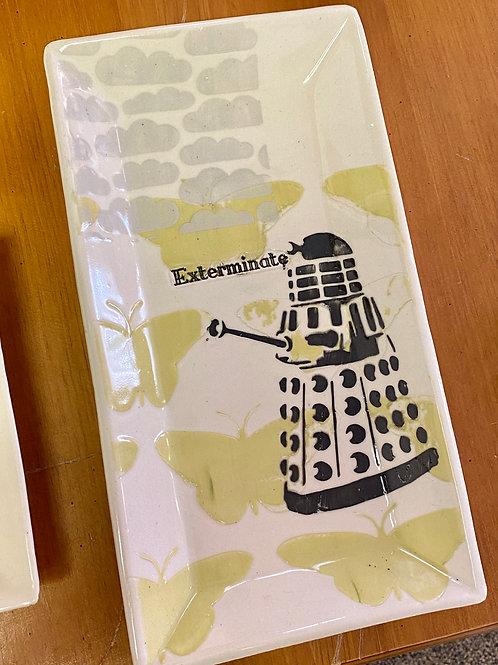 Exterminate Plate by Laura Davis