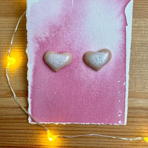 Heart Earrings by Amy Pellegrino