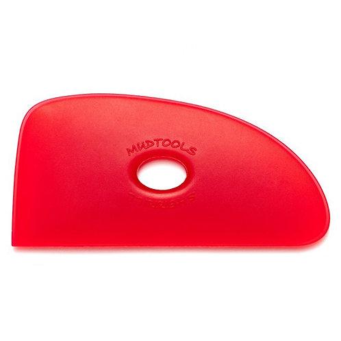 Shape 4 Polymer Rib- Red (Very Soft)