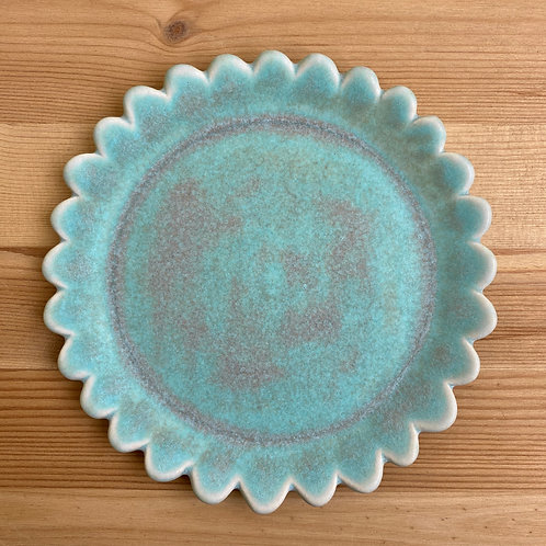 Scalloped Plate by Emily Hobart