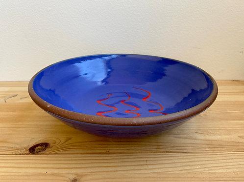 Big Blue Bowl by Dennis Allen