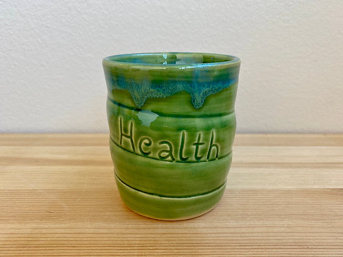 Health Cup by Jane Lester