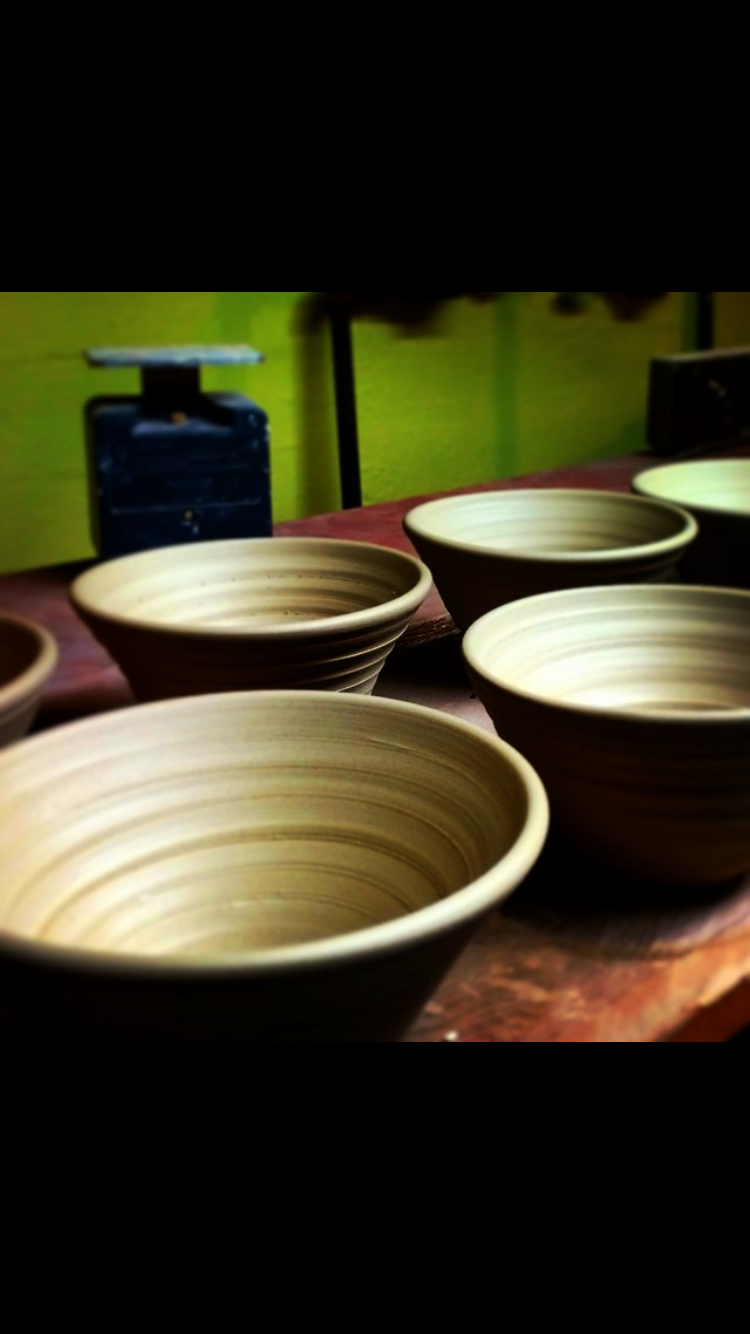 Bowls for the Chili cook off