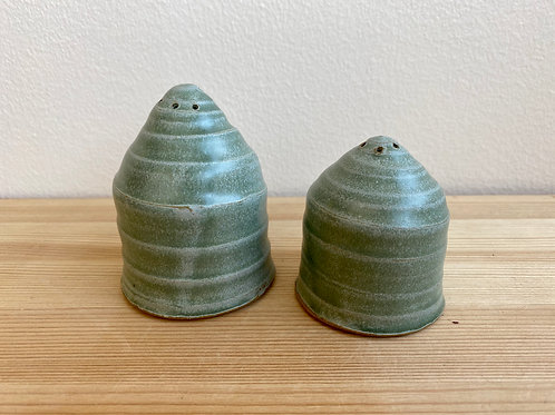 Salt and Pepper Shakers by Madville Pottery