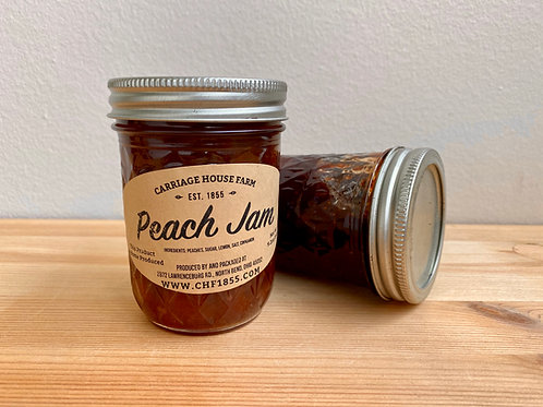 Peach Jam by Carriage House Farm