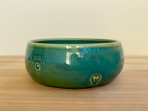 Green Bowl by Jane Lester