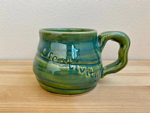 Creativity Mug by Jane Lester