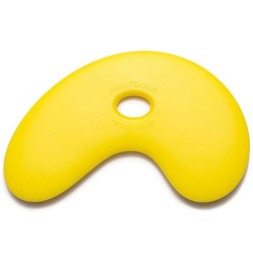 Small Bowl Polymer Rib- Yellow (Soft)
