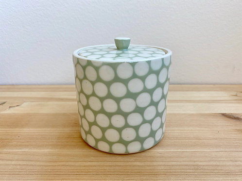 Lidded Jar by Emily Hobart