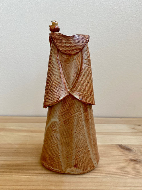 Nutmeg Robe Vessel by Nancy Chestnut