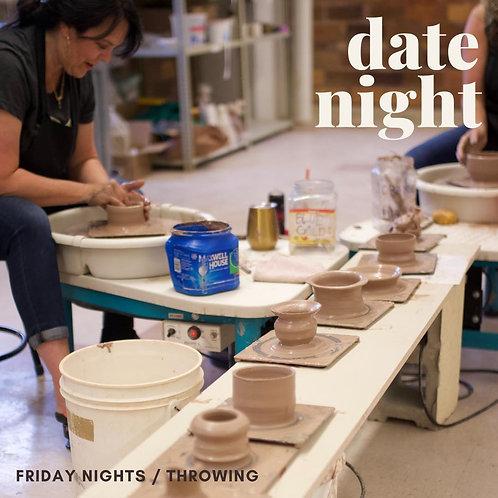 Friday Date Night- Wheel Throwing