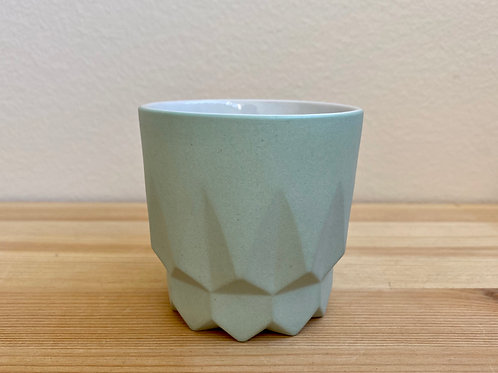 Green Slip Cast Cups