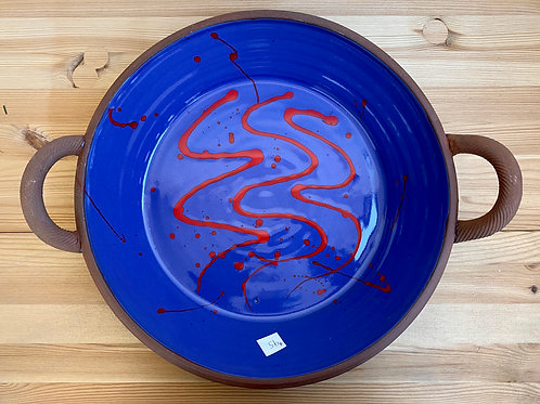 Ceramic Dish by Dennis Allen
