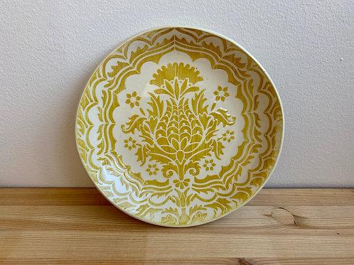 Yellow Bowl by Laura Davis