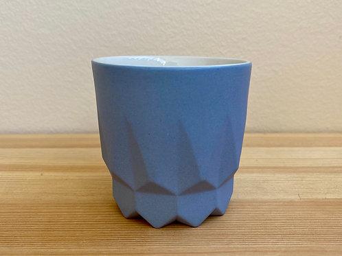 Blue Slip Cast Cups