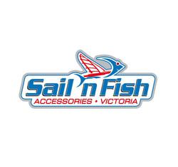 sail n fish logo with victoria