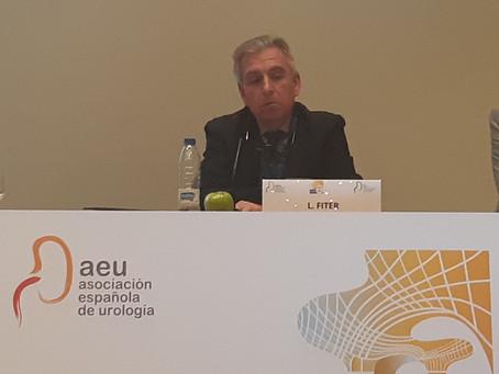 El Dr. Fiter, moderador en la Reunión del grupo Uro-Andrológico de la AEU