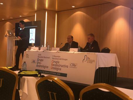 El Dr. Luis Fiter, moderador en la Reunión Nacional del Grupo de Andrología de la AEU