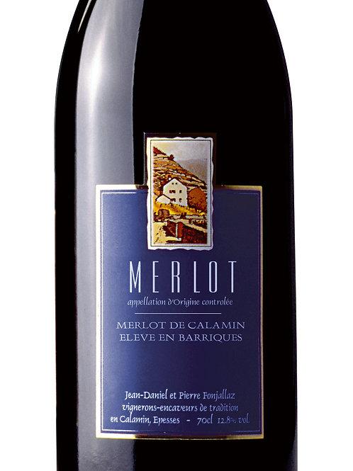 MERLOT - Merlot de Calamin Elevé en barriques