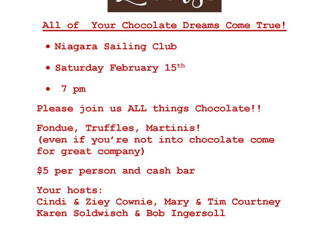 Chocolate Lovers Party! Come and get Dipped!!