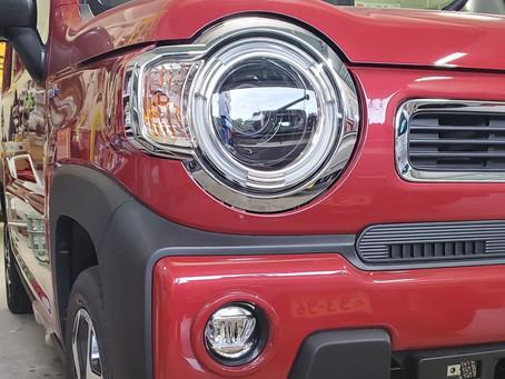 デントリペア 新車ハスラー