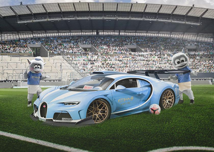 Manchester City – Bugatti Chiron Super Sport 300+