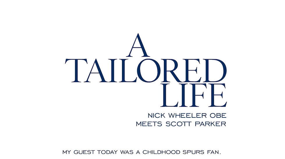 A Tailored Life interview with Scott Parker