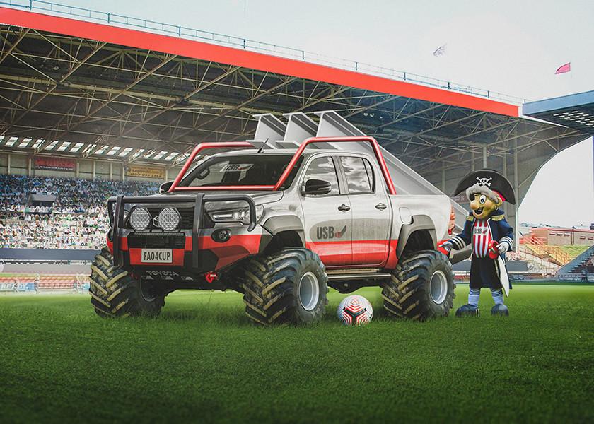Sheffield United - Toyota Hilux