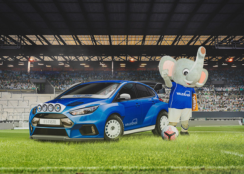 Everton - Ford Focus RS
