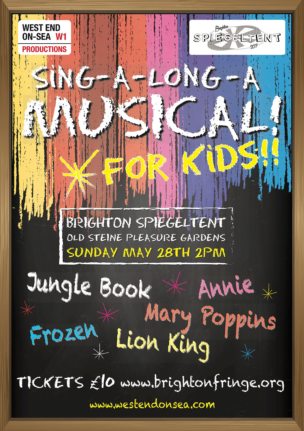 Poster 2pm Kids show May 28th 2017