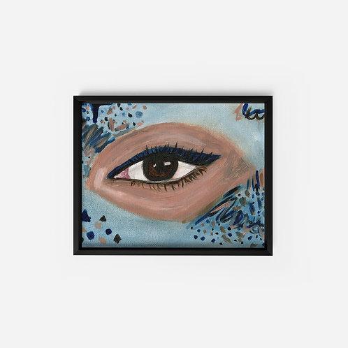 Eye - Oil - 5x7