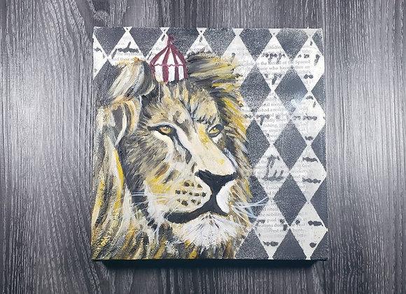 Lion - Oil - 8x8