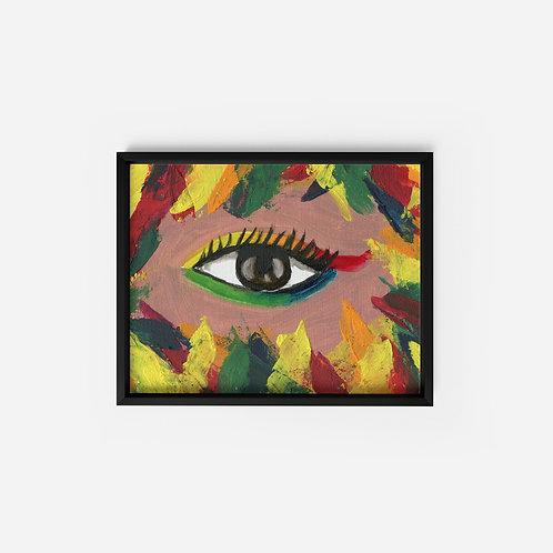 Colorful Eye - Oil - 5x7