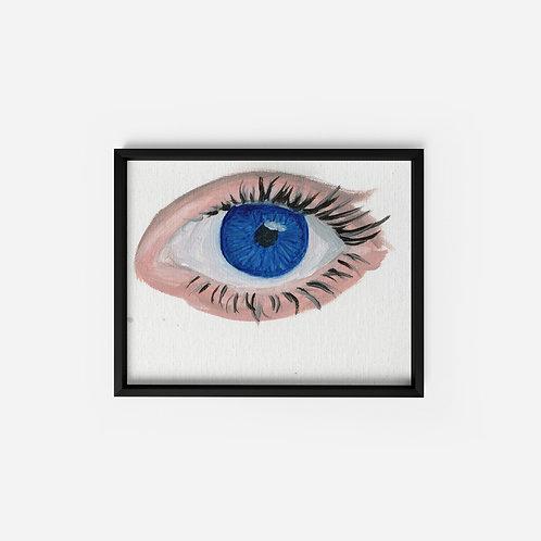 Blue Eye - Oil - 5x7
