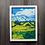 Thumbnail: Yellow Field Landscape - Oil - 9x12