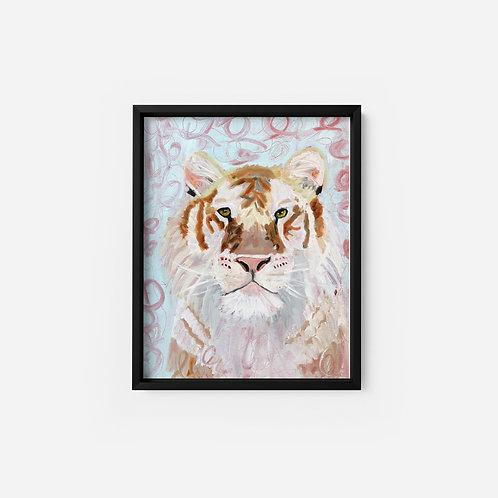White Tiger - Oil - 9x12