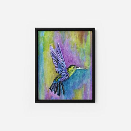 Hummingbird - Oil - 9x12