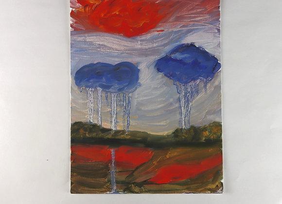 Rainy Day - Oil - 9x12