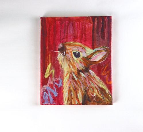 Bunny - Oil - 8x10