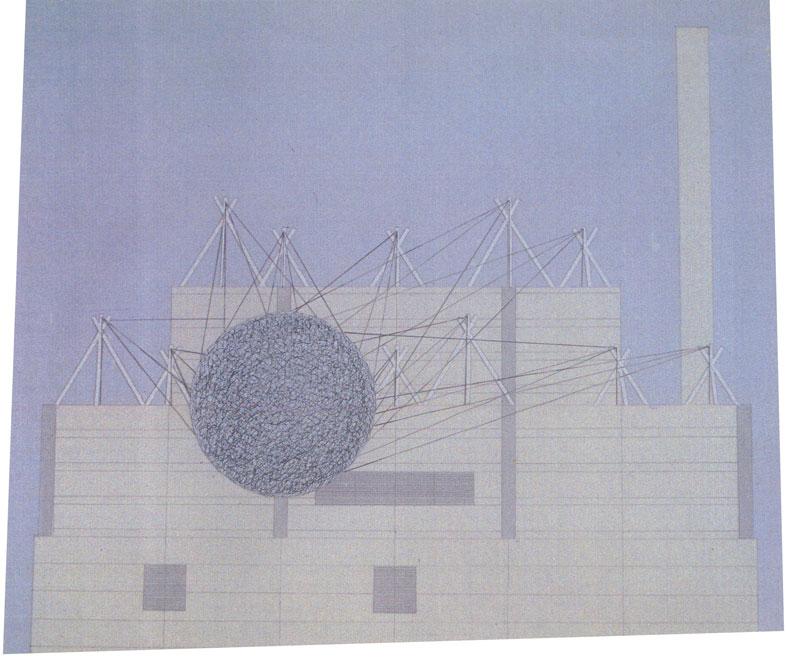 Gossamer Knot, Proposal Drawing