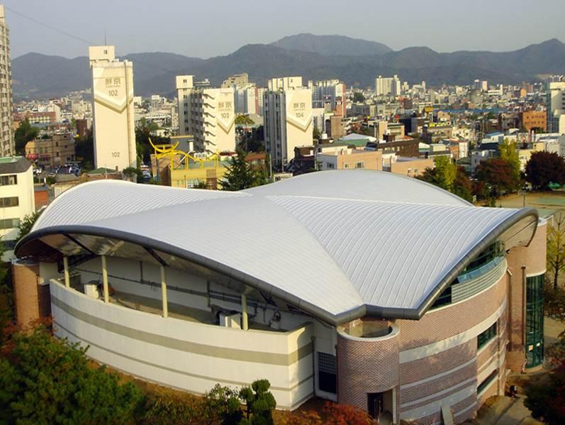천안고등학교 지붕공사