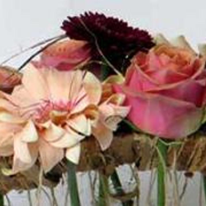 Workshop bloemschikken: een tafelstuk voor het nieuwe jaar.