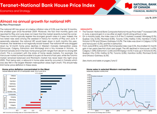 Teranet-National Bank House Price Index Update