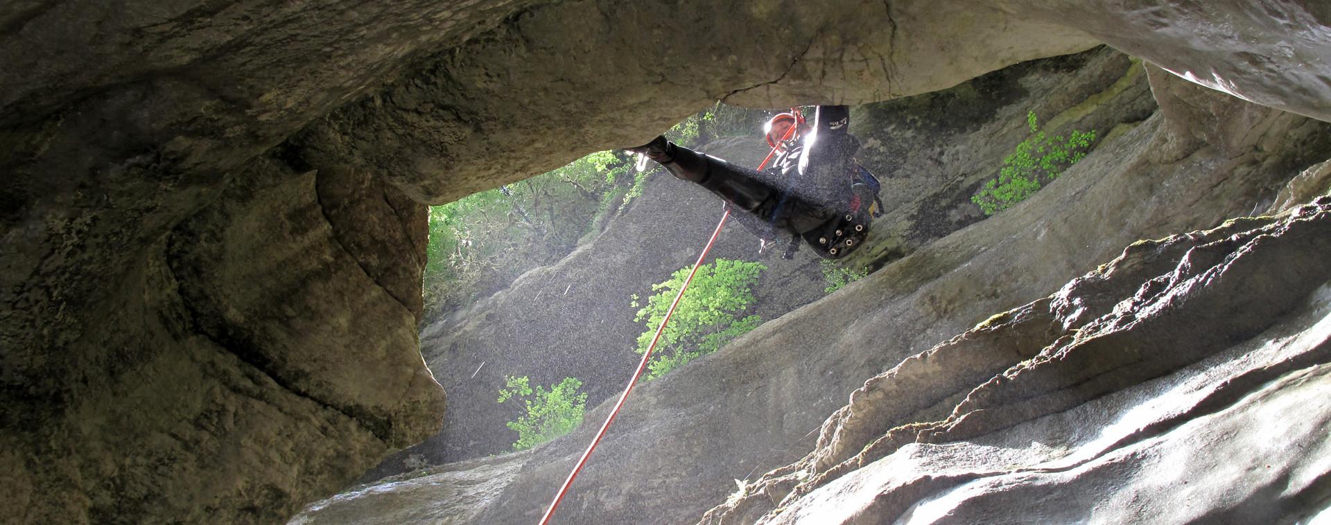 Acces canyon