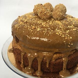 bolo snickers - bolo de chocolate com re