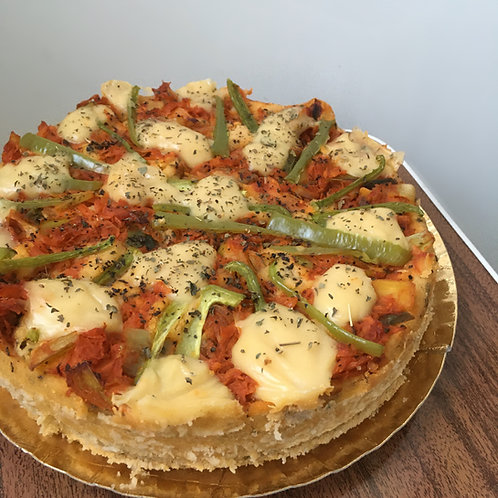 Quiche sabor Pizza Vegan