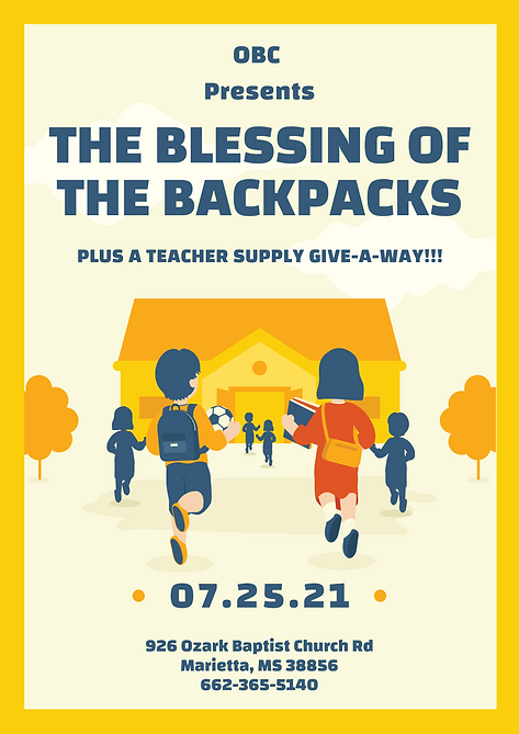 Yellow Illustrative Back To School Flyer.png