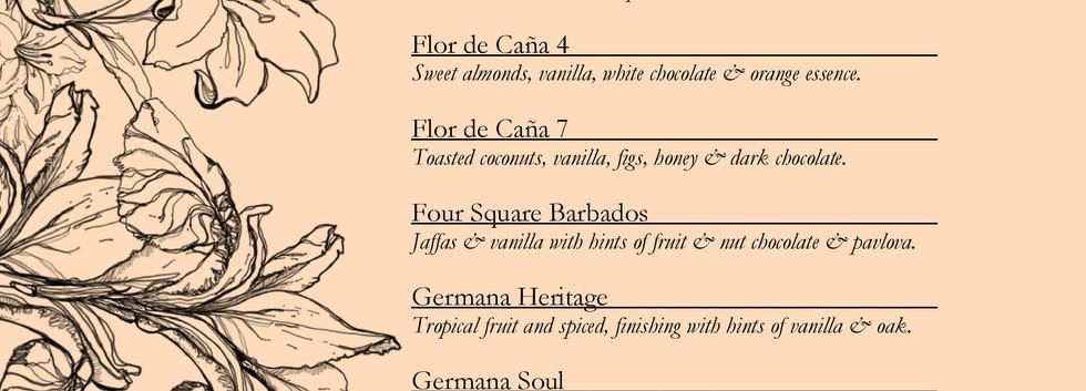 Drinks menu page 9