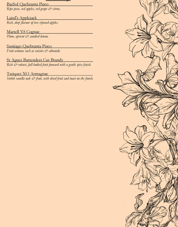 Drinks menu page 14